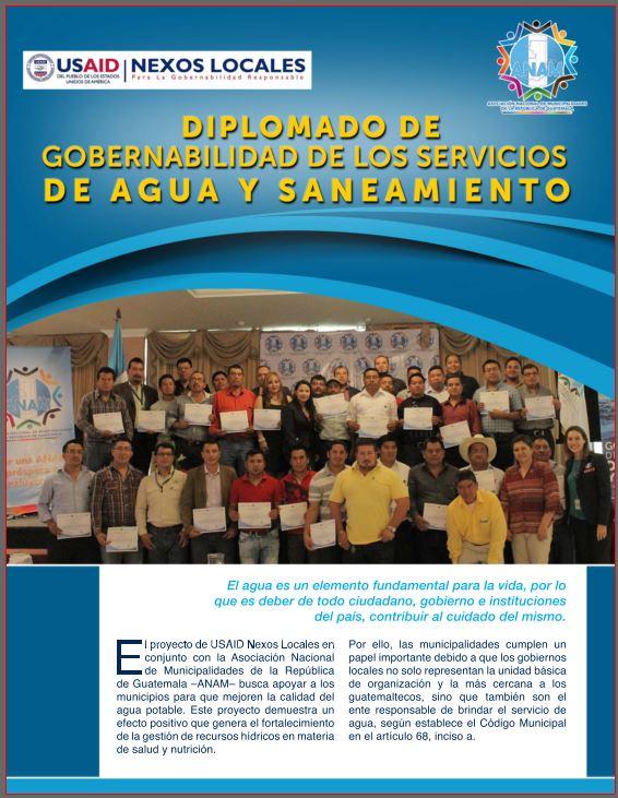 Diplomado Gobernabilidad de los servicios de agua y saneamiento