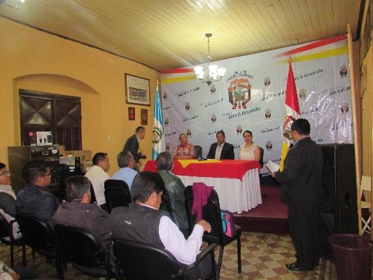 Alcalde de Chichicastenango agradeciendo