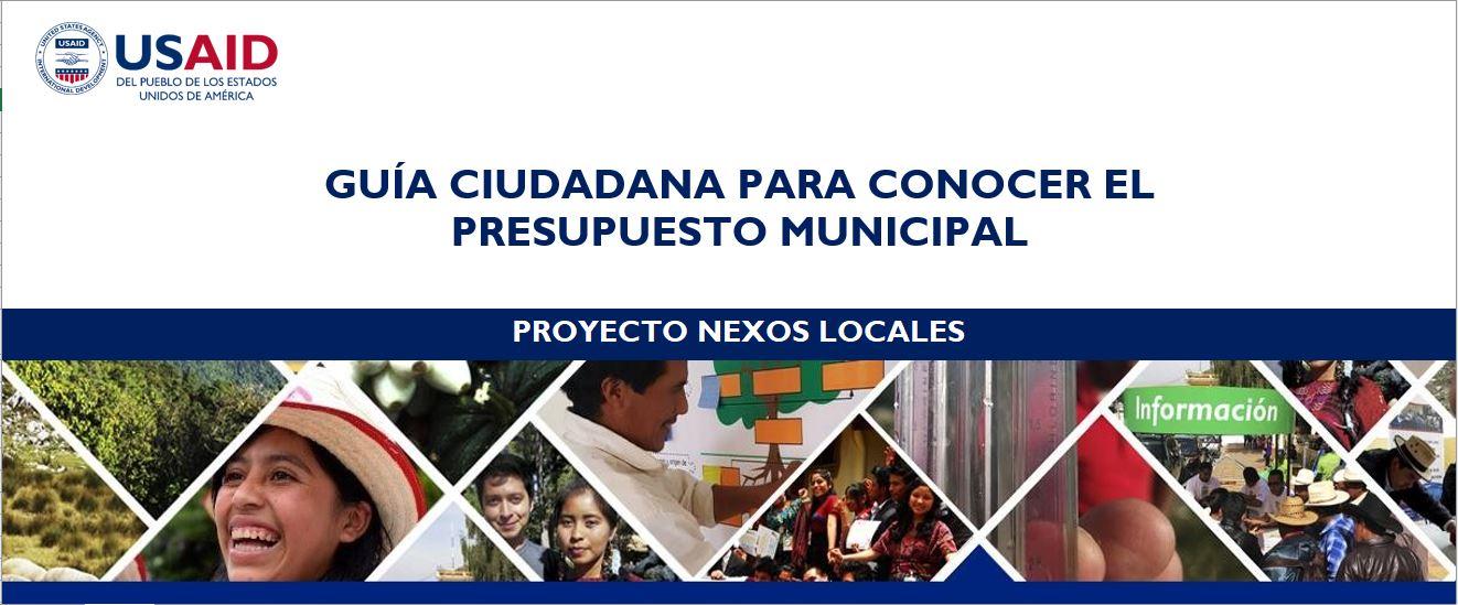 Guia Ciudadana par aaonocer el presupuesto