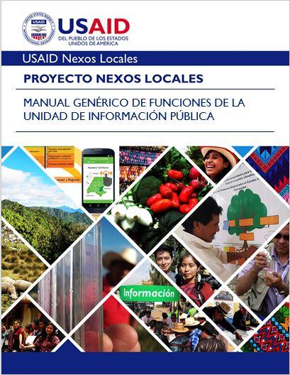 PORTADA MANUAL GENERICO DE FUNCIONES DE LA UNIDAD DE INFORMACION PUBLICA