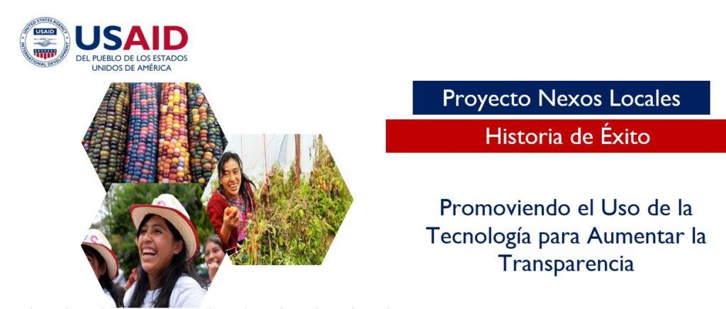 Portada: Tecnología para la Transparencia